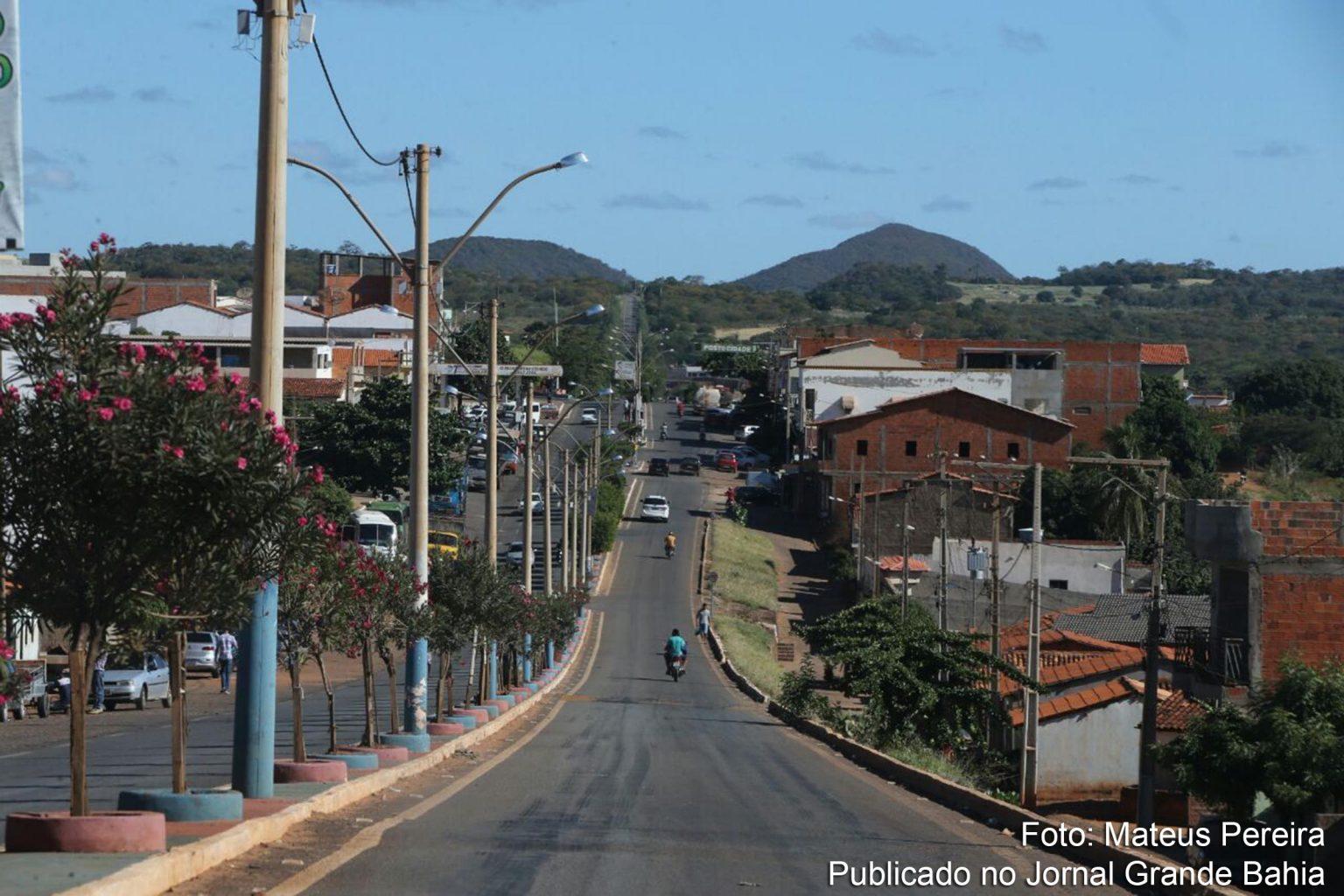 Vista da cidade de Riacho de Santana