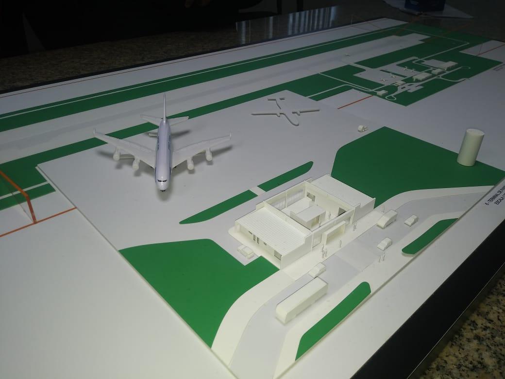 Construção de novo aeroporto em Bom Jesus da Lapa está em andamento