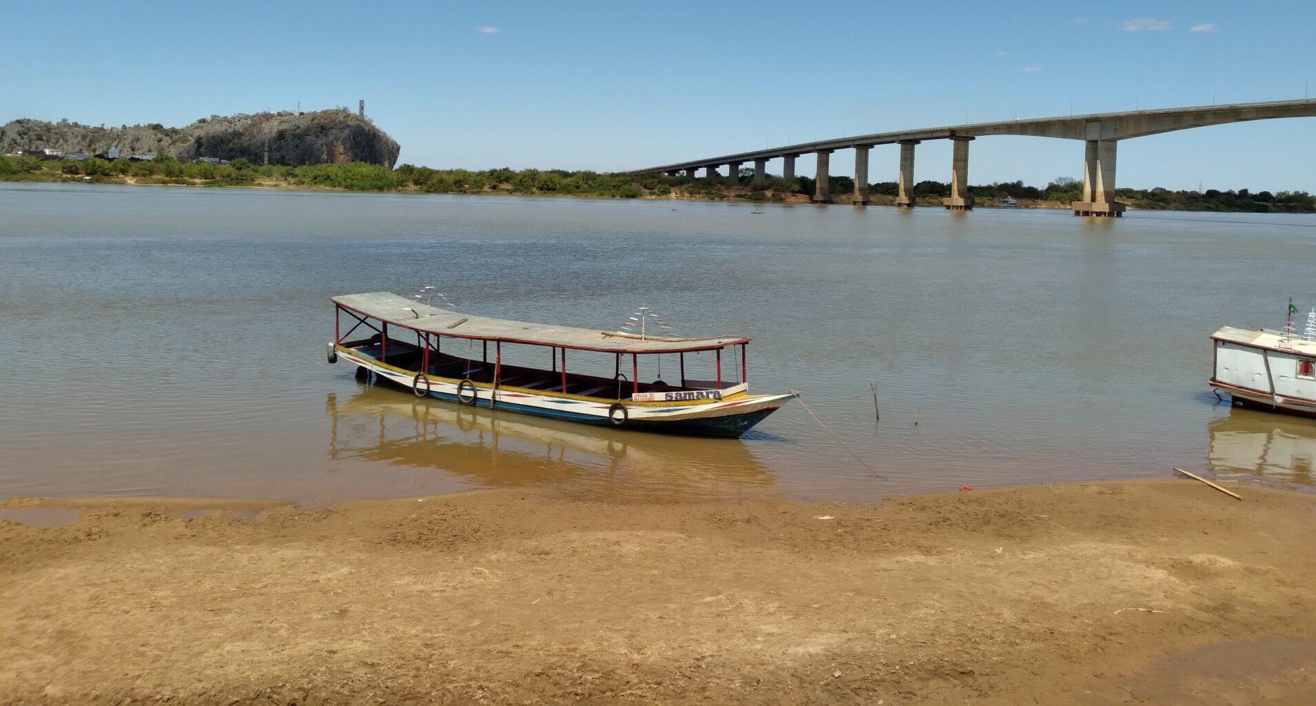 Bom Jesus da Lapa/BA: Mesmo com ocorrência de chuvas abaixo da média, Rio São Francisco inicia o mês de setembro com o nível acima do normal